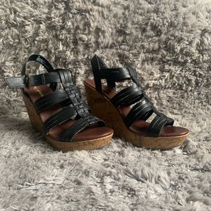 Mossimo Supply Co wedge shoe
